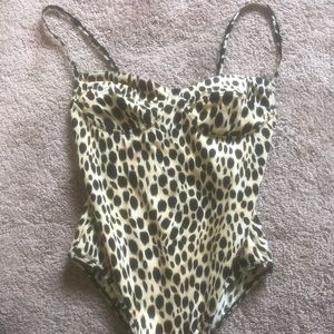 Princess Polly Cheetah Print Bodysuit